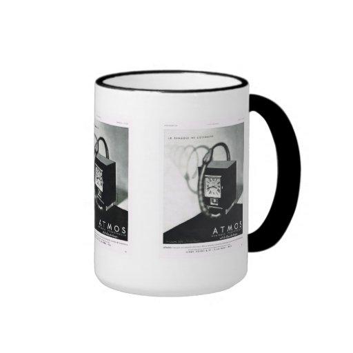 Atmos, vintage advertising, electrical equipment coffee mug