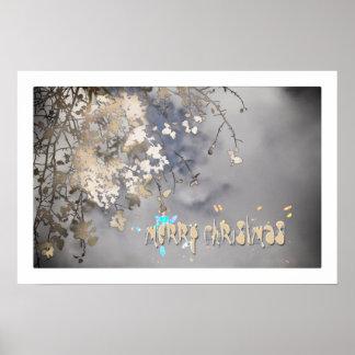 atmospheric christmas poster