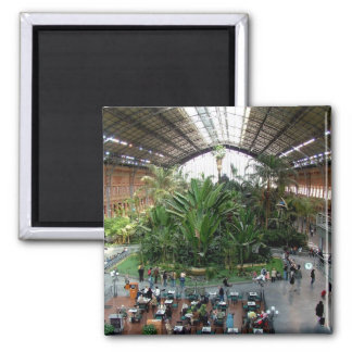 Atocha Railway Station Magnet