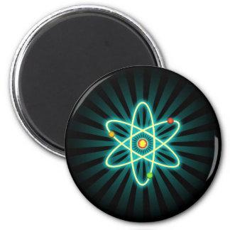 Atom 6 Cm Round Magnet