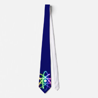 Atom (glow) - Dark blue Tie