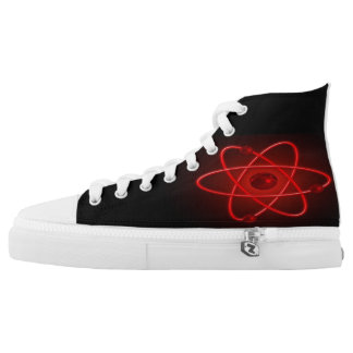 Atom in Red Printed Shoes