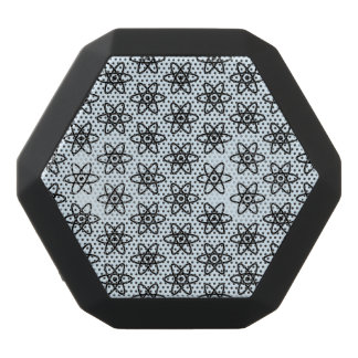 Atom Pattern Black Bluetooth Speaker