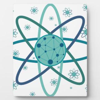 Atom Plaque