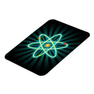 Atom Rectangular Photo Magnet