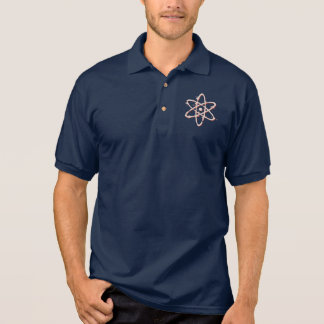 Atom Retro Distressed Polo Shirt
