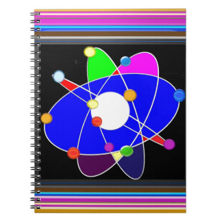 ATOM science explore study research NVN632 SCHOOL Spiral Note Books