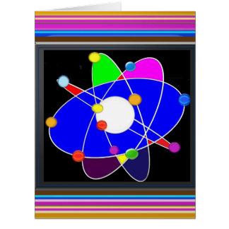 Atom Science School Research Development NVN658 RN Big Greeting Card