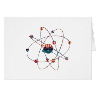 Atom Science School Research Development NVN658 RN Greeting Card