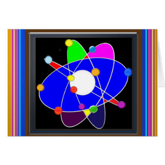 Atom Science School Research Development NVN658 RN Note Card