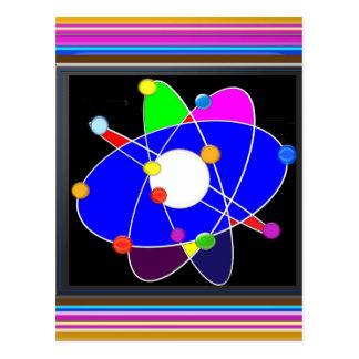 Atom Science School Research Development NVN658 RN Postcard