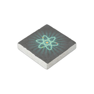 Atom Stone Magnet