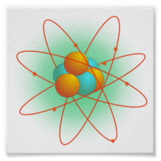Atom Structure Poster