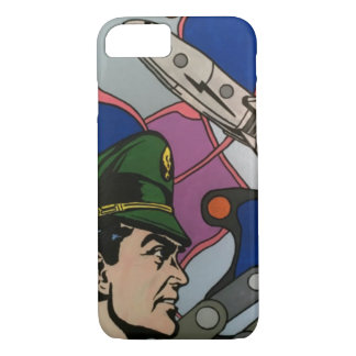 Atomic Abstract the Rocket Captain painting on a iPhone 8/7 Case