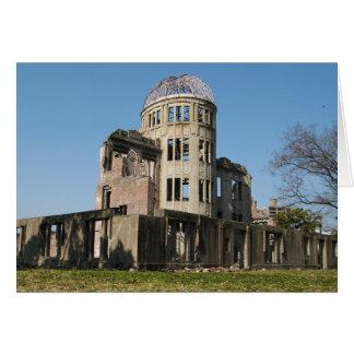 Atomic Bomb Dome, Hiroshima, Japan Greeting Card