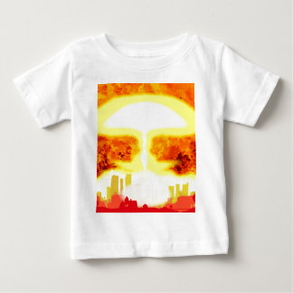Atomic Bomb Heat Background Baby T-Shirt