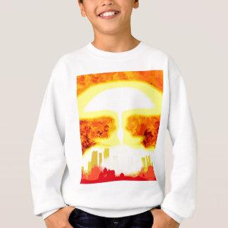 Atomic Bomb Heat Background Sweatshirt