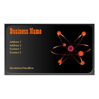Atomic Business Card
