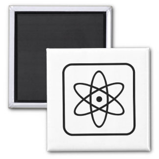 Atomic Chic Square Magnet