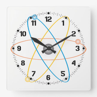 Atomic Clock in Colors