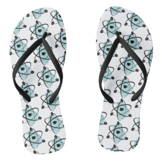 Atomic Coffee Beans Flip Flop (teal)