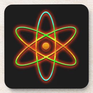 Atomic concept. coaster
