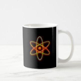 Atomic concept. coffee mug