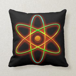 Atomic concept. cushion