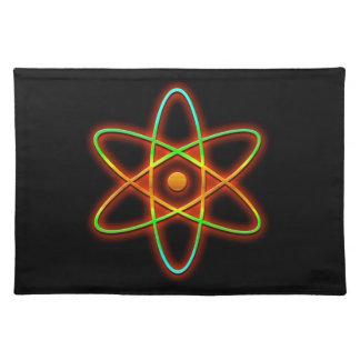 Atomic concept. placemat
