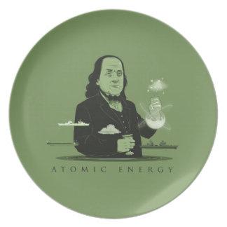 Atomic Energy Plate