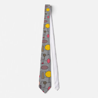 Atomic Era Style Men's Tie  1950's Vintage Style