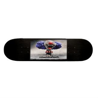 Atomic Evil Clown Bomb Skateboard Deck