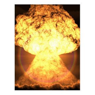 Atomic Explosion Postcard