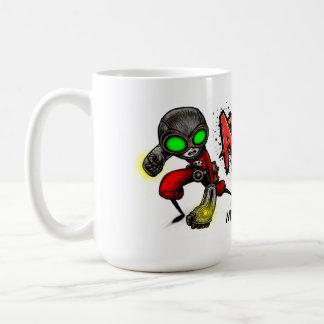ATOMIC FIST PUNCH Mug! Coffee Mug