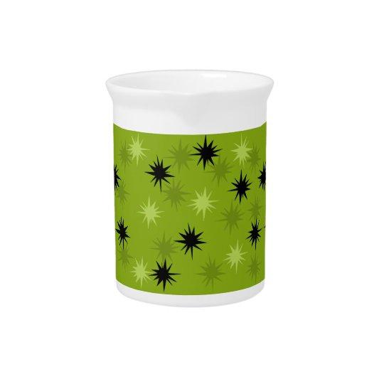 Atomic Green Starbursts Pitcher