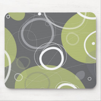 Atomic in Olive Mousepad
