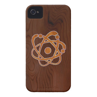 Atomic Inlay iPhone 4 Case