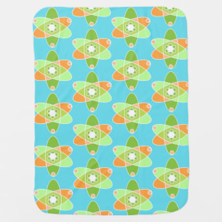 Atomic Kiwi Baby Blanket