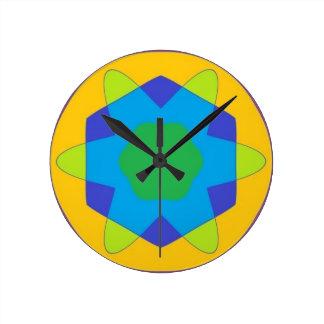 ATOMIC MASS ROUND CLOCK