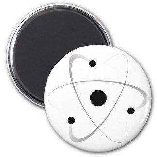 Atomic Mass Structure 6 Cm Round Magnet