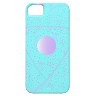 Atomic Mass Structure Background Barely There iPhone 5 Case