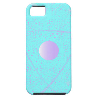 Atomic Mass Structure Background Case For The iPhone 5