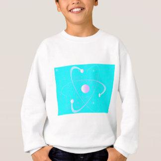 Atomic Mass Structure Background Sweatshirt