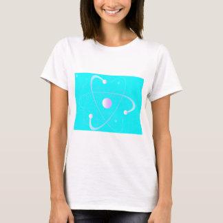 Atomic Mass Structure Background T-Shirt