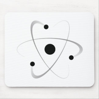 Atomic Mass Structure Mouse Pad