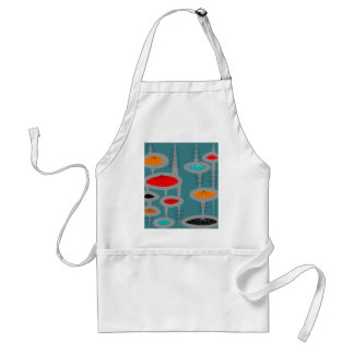 Atomic Mid-Century Inspired Abstract Apron