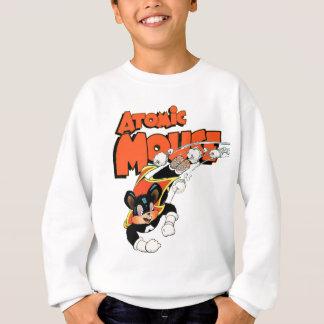 Atomic Mouse cute cartoon art superhero Sweatshirt