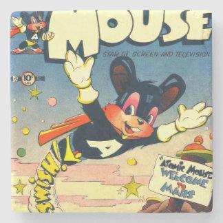 Atomic Mouse No.1 Stone Coaster