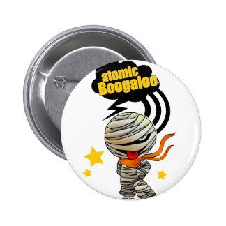 Atomic Mummy shirt Color 6 Cm Round Badge