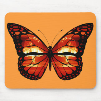 Atomic Mushroom Cloud Butterfly Mousepad